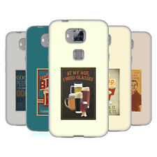 OFFICIAL LANTERN PRESS MAN CAVE SOFT GEL CASE FOR HUAWEI PHONES 2