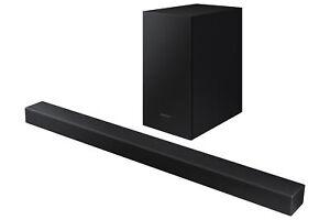 NEW Samsung HW-T450 200W 2.1-Channel Bluetooth Soundbar w/ Wireless Subwoofer