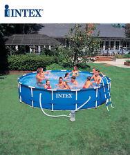 Piscina fuori terra Intex Metal frame rotonda 457x84 cm