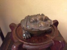 Bronze Frosch Skulptur chinesische Antiquität aus der Da Ming Dynastie