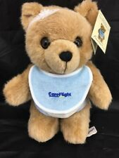 "NRMA CAREFLIGHT ""JACK"" BABY BOY TEDDY BEAR PLUSH TOY. Fully Jointed."