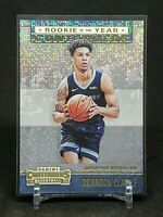 2019-20 Contenders Brandon Clarke RC, Rookie of the Year Dazzle, Grizzlies