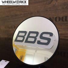 4xOriginal BBS Emblem Felgendeckel Nabendeckel grau/weiß/silber 70,6mm 0924486