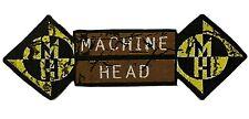 More details for machine head - superstripe die cut woven patch rare aufnäher écusson parche