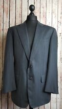 Ermenegildo Zegna Wool Grey Pinstripe High Performance Winter Jacket Blazer 42L