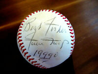 WILLIE MAYS BEST WISHES 1999 GIANTS METS HOF SIGNED AUTO VTG ONL BASEBALL JSA LT