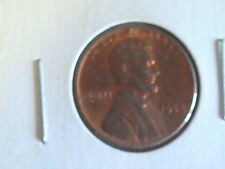 US CENT 1958  LINCOLN CENT UNCIRCULATED BRILLIANT RED