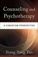 Counseling and Psychotherapy: A Christian Perspective, Tan, Siang-Yang, Acceptab