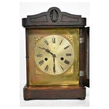 Antique Oak Clock In Antique Clocks For Sale Ebay