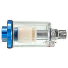 1/4 BSP Spray Gun Air Line Mini Filter Line Moisture Water Clear Trap