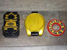 Power Rangers Super Samurai Negro Caja Morpher Disco de trabajo sonidos BANDAI