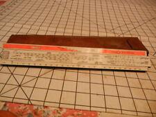 C-123B Load Adjuster Slide Rule USA. for parts / repair