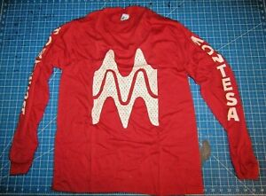 "Montesa ""Montesa"" Long Sleeve Red T-Shirt Tee Shirt Size USA Medium"