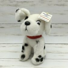 Vintage Walt Disney 101 Dalmatians Animated Film Classic Plush Puppy Dog