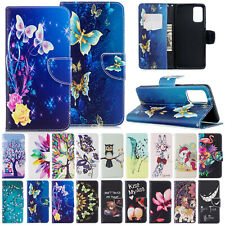 For Samsung Galaxy S20 Ultra S20+ Folio Leather Card Pockets Wallet Case Cover