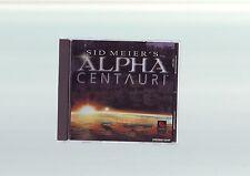 Sid Meier's Alpha Centauri-Juego de PC-rápido post-Edición Original jc versión