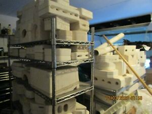 Ceramic Molds LOT APPROX. 200 molds