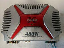 SONY XPLOD 480 Watt 2/1 Channel XM280GTX Stereo Power Amplifier Audio AMP Tested