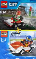 LEGO City #30314 + #30150 - Go-Kart Racer + Racing Car - 100% NEW - Sealed