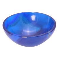 Blue Onyx Gemstone Handcarved Bowl Reiki Crystal Bowl Healing Energy