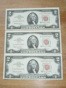 Lot of 3 World Paper Money #3391