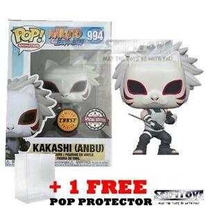 Naruto Shippuden Anbu Kakashi CHASE Pop Vinyl Figure Funko Exclusive