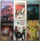 Lot of 6 Comics Snowman Hectic Planet Metaphysique Trailer Trash Eleven Or One