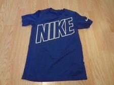 Youth Boys Nike Dri Fit S Blue S/S Shirt