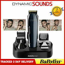 BaByliss 7427U Titanium Nitride Mens Face & Body Multi Groomer Kit Cordless