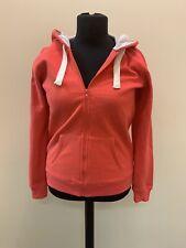 New Look Hudson & Rose Red Full Zip Hoodie Top Size 14