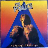 The Police – Zenyatta Mondatta : 1980 Vinyl LP Monarch Pressing EX Condition