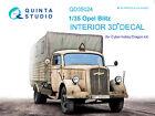Quinta QD35024 Opel Blitz 3D-Printed Interior for Cyber-hobby/Dragon kit