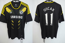 2012-2013 Chelsea FC The Blues Jersey Shirt Third Adidas SAMSUNG Oscar #11 L NWT