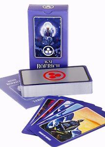Agni ROERICH Tarot, 2017 Edition. An Exceptional Tarot Cards Deck/Set (78 Cards)