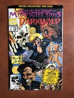 Darkhold #1 (1992) 9.4 NM Marvel Key Issue Comic Midnight Sons Part 4 Sealed