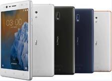 "Original Unlocked Nokia 3 Dual SIM 4G LTE 16GB ROM 5"" 2GB RAM 8MP Android Phone"