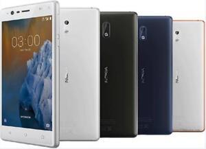 "Original Unlocked Android Nokia 3 Dual SIM 4G LTE 16GB ROM 2GB RAM 8MP Phone 5"""