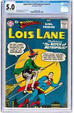 Superman's Girlfriend Lois Lane #1 CGC 5.0 DC 1958 Key Book! JLA! H11 195 cm