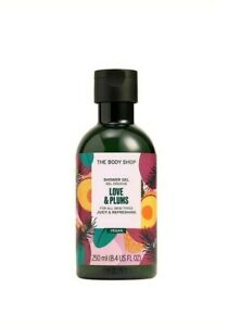 THE BODY SHOP Love & Plums Shower Gel 250ml – SPECIAL EDITION –VEGAN