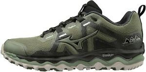 Mizuno Wave Mujin 6 Womens Trail Running Shoes - Green