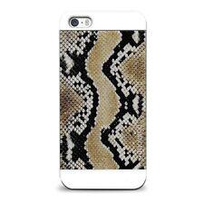 "IPHONE 4/4S 5/5S "" Giungla Serpente Animali Safari Serpente Skin Pelle"