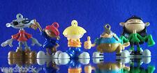 New Retired Cartoon Network Kids Next Door 5 Piece Mini Figure Toy Set Favors