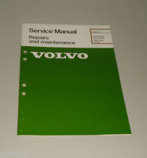Service Manual  Volvo 240 / 260 Suspension And Wheels ab Baujahr 1975