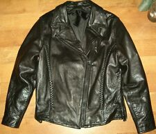 Womens Designer Leather Motorcycle Jacket