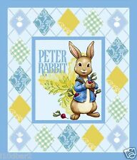 PETER RABBIT FABRIC PANEL WALLHANGING QUILT TOP DISNEY FABRIC BTP NEW