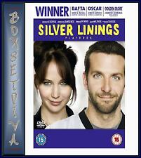 SILVER LININGS PLAYBOOK Bradley Cooper & Jennifer Lawrence ***BRAND NEW DVD ***