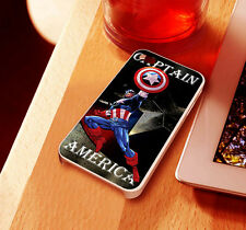 Captain America - for iphone 4/4s/5 or Samsung S2/S3/S4 case cover