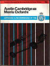 AUSTIN A60 CAMBRIDGE A55 MORRIS Oxford V mg Magnette Riley & Wolseley manutenzione