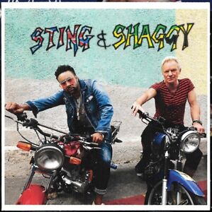 Sting & Shaggy - Just One Lifetime CD Single Promo France 2018 2 versions
