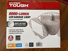 NEW Hyper Tough LED Garage Light 8000 Lumens 80 Watts Daylight Adjustable Lights